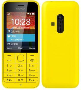 Nokia 220 Dual Sim Yellow 1